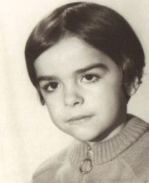 Thierry Brun enfant